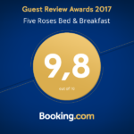 Five Roses B&B Booking Award 2017